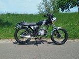 Mash Fifty Mat Zwart, 50cc, Gebruikt_