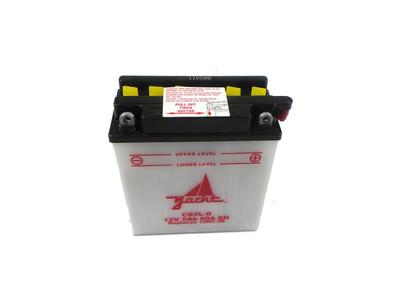 Accu 12 volt 5 ampere, YB5L-B C90 met startmotor
