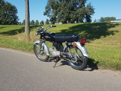 Honda CD50s Benly Japans (02-2019) 11208 km, Met kenteken!