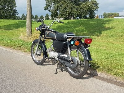 Honda CD50 Japans (20-2019) 9863 km, met kenteken