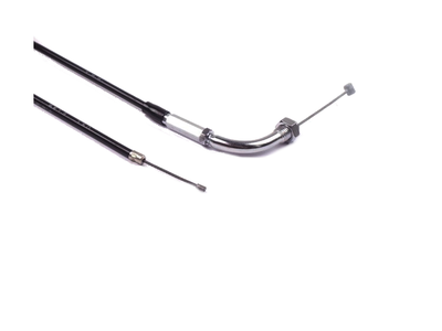 Gaskabel, CB50, CY50, XL50, 83cm, chroom bochtje, origineel Honda