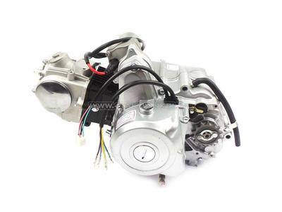 Motorblok,  70cc, handkoppeling, 4-bak, startmotor boven