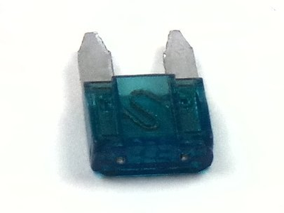 Zekering, auto steekzekering, 15 ampere, mini