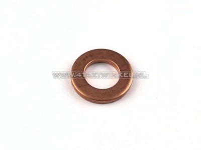 Ring 10mm, koper