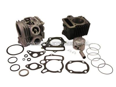 Cilinderset, met zuiger & pakking & cilinderkop 70cc, Honda NT, AGM, Hanway, Skyteam, e.d. 49cc opdruk