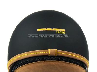 Helm MT, Cosmo, Mat Zwart, Maten XS t/m XL