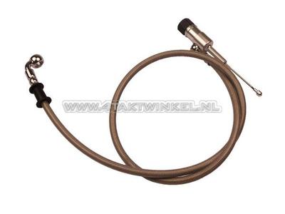Hydraulische koppeling, pompje en leiding 95 cm