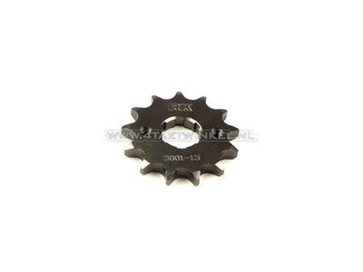 Voortandwiel, 428 ketting, 20mm as, 13, Ace / Ape 125