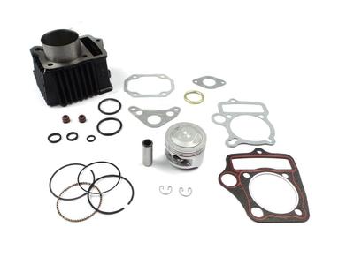 Cilinderset, met zuiger & pakking 85cc, NT70 kop, 49cc opdruk