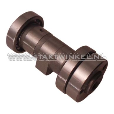 Nokkenas NT cilinderkop met lagers, standaard