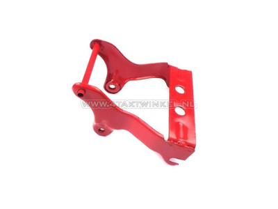 Buddy steun C70 OT smal frame, brede schokbrekers, rood, origineel Honda