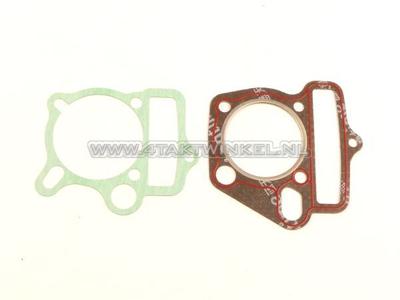 Pakkingset A, kop & cilinder, basis setje: voet & kop, 53mm 125cc