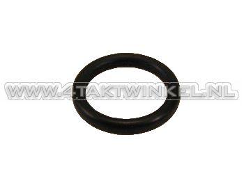 Olie peilstok rubber O-ring, C50, SS50, origineel Honda