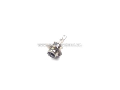 Koplamp P15d, duplo,  6 volt, 25-25 watt, o.a. SS50 imitatie fitting