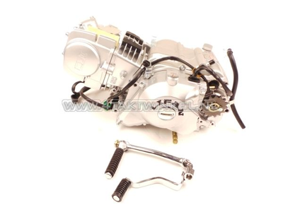 Motorblok, 125cc, handkoppeling, Lifan, 4-bak, startmotor