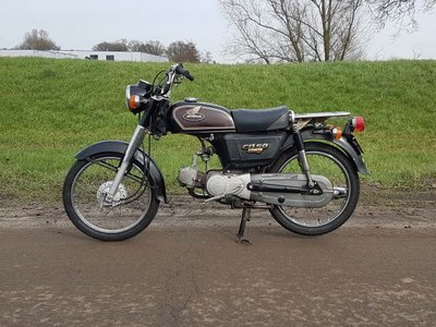 Honda CD50 Japans 22774 km, met Kenteken