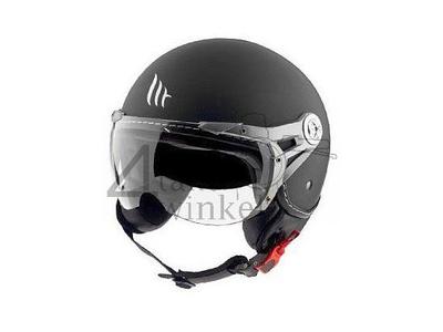 Helm MT, Le Mans Soul Retro, zwart, Maten S t/m XXL