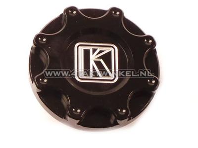Tankdop Monkey, CNC aluminium zwart