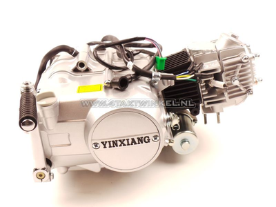 Motorblok,  70cc, handkoppeling, YX, 4-bak, met startmotor