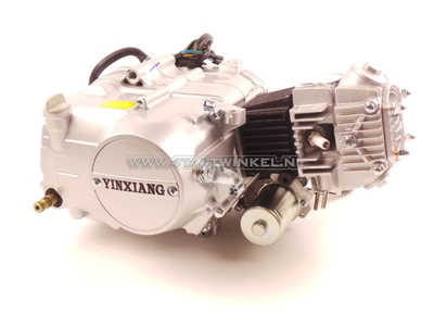 Motorblok,  50cc, handkoppeling, YX, 4-bak, met startmotor