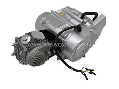 Motorblok,  50cc, semi-automaat, Lifan, 4-bak, zilver