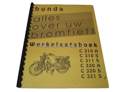 Werkplaatsboek, Honda C310, C320 zowel A als S