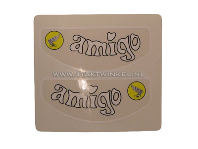 Sticker Amigo frame buis, set