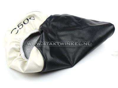 Buddydekje C50 NT zwart/wit, C50 opdruk