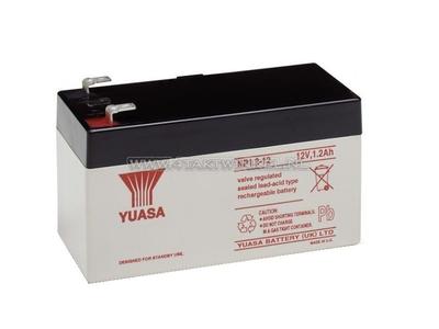 Accu 12 volt 1,2 ampere gel Yuasa