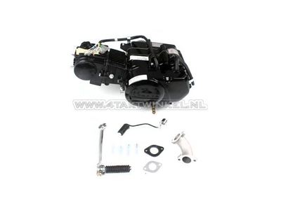 Motorblok,  70cc, handkoppeling, Lifan, 4-bak, zwart
