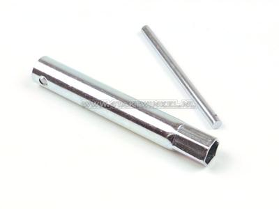 Bougiesleutel, C bougie 16mm pen handvat