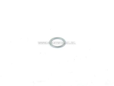Rempedaal as / bok as, ring, 17mm, origineel Honda