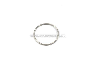 Voorvork poot clip / ring SS50, CD50, onder, origineel Honda