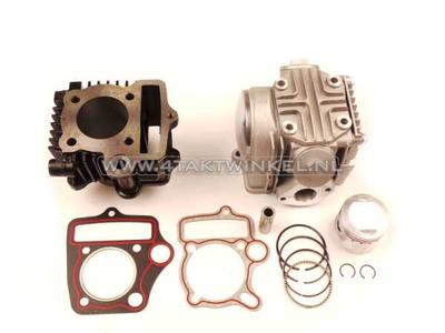 Cilinderset, met zuiger & pakking & cilinderkop 70cc, Honda NT, AGM, Hanway, Skyteam, enz.