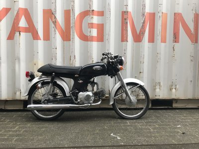 Honda CD50s benly Japans, Zwart, 22487 km