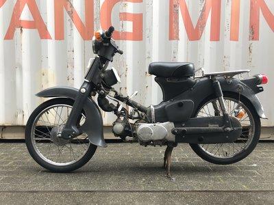 Honda C50 OT Japans, grijs, 5897 km