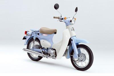 Honda Little cub, Japans, blauw, 10319km