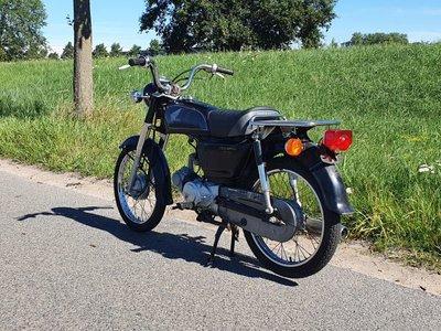 Honda CD50 benly Japans, Zwart, 2321 km