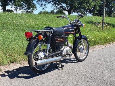VERKOCHT ! Honda CD50 benly Japans, Zwart, 9018 km