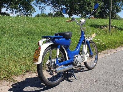 Honda PC50, Blauw,