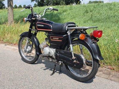 Honda CD50 benly Japans, Zwart, 35986 km