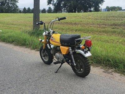 GERESERVEERD, Honda Monkey J1, 8348 km