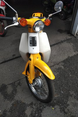 VERWACHT! Honda C50 NT Japans, geel, 10118 km