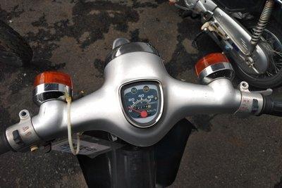 VERWACHT! Honda C50 NT Japans, zilver, 12274 km