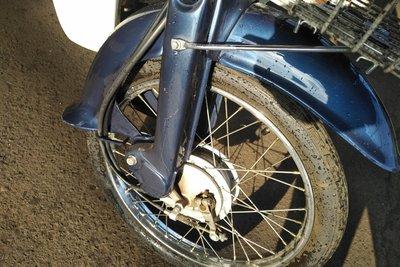 VERWACHT! Honda C50 NT Japans, blauw, 8860 km