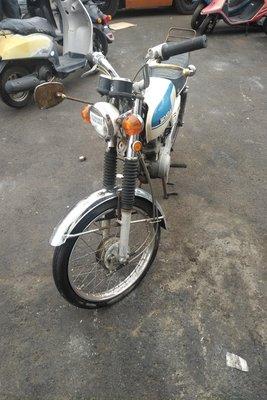 VERWACHT! Honda CB50 K1, Japans, 3365 km