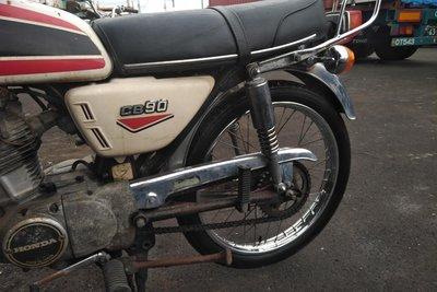 VERWACHT! Honda CB90, Japans, 10349 km