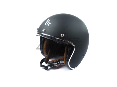 Helm MT, Le Mans Speed, Mat zwart, Maten S t/m XL