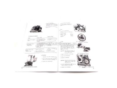 Werkplaatsboek, Honda Amigo, Novio, A-keuze