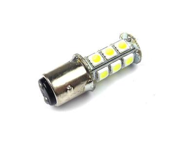 Achterlamp duplo BAY15D, 12 volt, LED, wit, type 2 (lang),